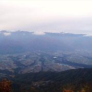 山頂からのパノラマです