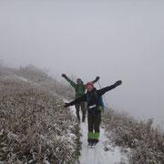 雪山は楽しぃ~です