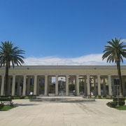 Pronao della Villa, visto dall'interno - Foggia 2013