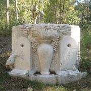 """Antonio Bassi, scultura fontana """"metaforica"""""""