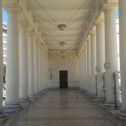 Pronao della Villa, vista interna - Foggia 2013