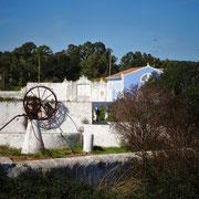 herausgeputzte Quinta mit alter Brunnenanlage