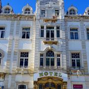 ehemals hochherrschaftlich ... das Hotel Guadiana in Vila Real ... immer noch eine beeindruckende Ausstrahlung
