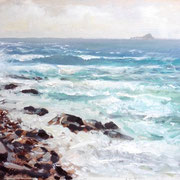 Towards The Brisons, Sennen