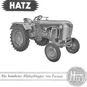 Hatz H113 Originalprospekt