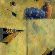 Jarras Egipcias - Oleo 70x60 (2002) - Daniel Dankh