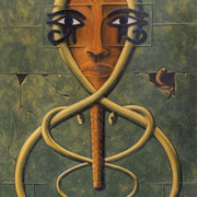 Poder Real - Oleo 150x100 (2003) - Daniel Dankh