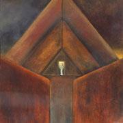 A las puertas del Duat - Oleo 80x60 (2003) - Daniel Dankh