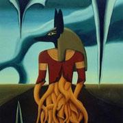 Miles de Miles (de años) - Oleo 145x140 (1997) - Daniel Dankh
