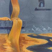 Nilo, Rio sagrado - Oleo 70x60 (2003) - Daniel Dankh