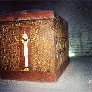 Sarcófago de Tutmosis IV en su tumba del Valle de los Reyes - Luxor - Dankh