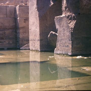 El Osirion del templo de Seti I en Abydos
