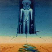 Re-Horakhty - Oleo 180x150 (1993) - Daniel Dankh