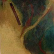 El legado de Toth - Oleo 115x122 (2001) - Daniel Dankh