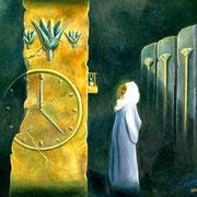 Herederos del Tiempo - Oleo 50x60 (2005)  - Daniel Dankh
