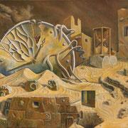 La conexion interna - Oleo 50x60 (2004) - Daniel Dankh