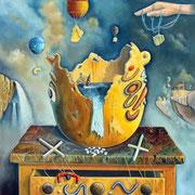 La Marioneta (Escena de un Crimen) - Oleo 50x70 (2010) - Daniel Dankh