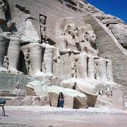 Yo en Abu Simbel - Dankh