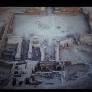 Templo mortuorio de la piramide de Micerino,Giza, El Cairo