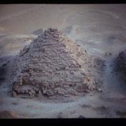 Piramide satelite de la piramide de Micerino,Giza,El Cairo.