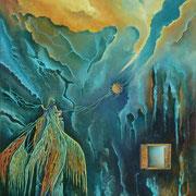 Travesía del Alma  (Oleo 60x50) Daniel Dankh  2013