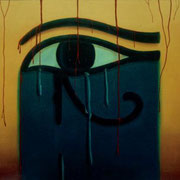 Un Romance dificil - Oleo 110x130 (1993) - Daniel Dankh