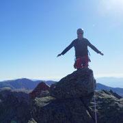 Guía de montaña, pico la Galana.