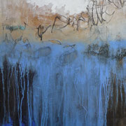 Mischtechnik auf Leinwand, 60 x 80 x 3,5 cm