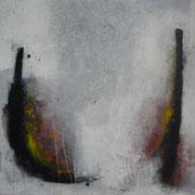 Mischtechnik auf Leinwand 80 x 80 cm