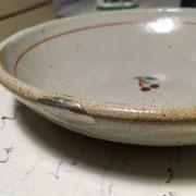 カレー皿 金継ぎ
