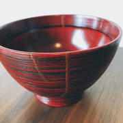 木質碗 金継ぎ