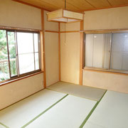 2階の南側にある和室6帖