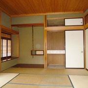 和室8帖。床の間付き