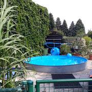 unser Pool...