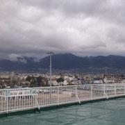 Patras - Das erste was im neuen Hafen ins Auge sticht... PRAKTIKER:-)