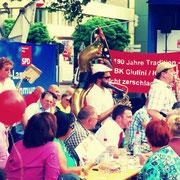 Am Kulturzentrum DasHaus in Ludwigshafen bei der Wahlkampfabschlussveranstaltung 2014 der SPD