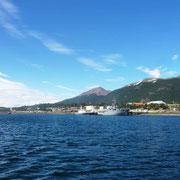 Après ce 3ème trek, on quitte le port pour Ushuaia sur notre coquille de noix