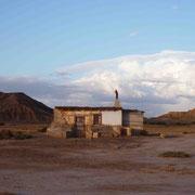 Coucher de soleil sur la cabane de Pancho