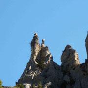 Deux des gardiens de canyon
