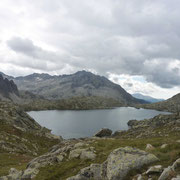 Estany des Monges et punta Alta