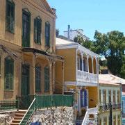 Palette de couleurs très répandue dans la cité portuaire