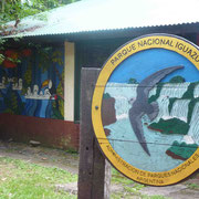Bienvenue aux célèbres chutes d'Iguazu