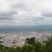 La ville de Salta vue depuis el Cerro San Bernardo
