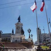 Historique place d'Armes de Valparaiso