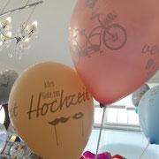 Ballon Hochzeit