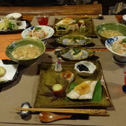 Luxurious Japanese dinner