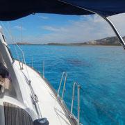 Die Fornelli - Passage zwischen der Isola Asinari und Sardinien