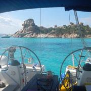 private Eigneryacht, Segeltörn 2017 buchen rund Sardinien mitsegeln