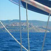 Segeln rund Sardinien Alghero