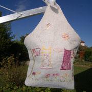 sac pour pinces à linge